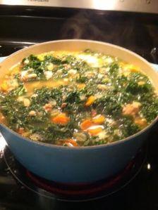 Kale, Sausage & White Bean Soup